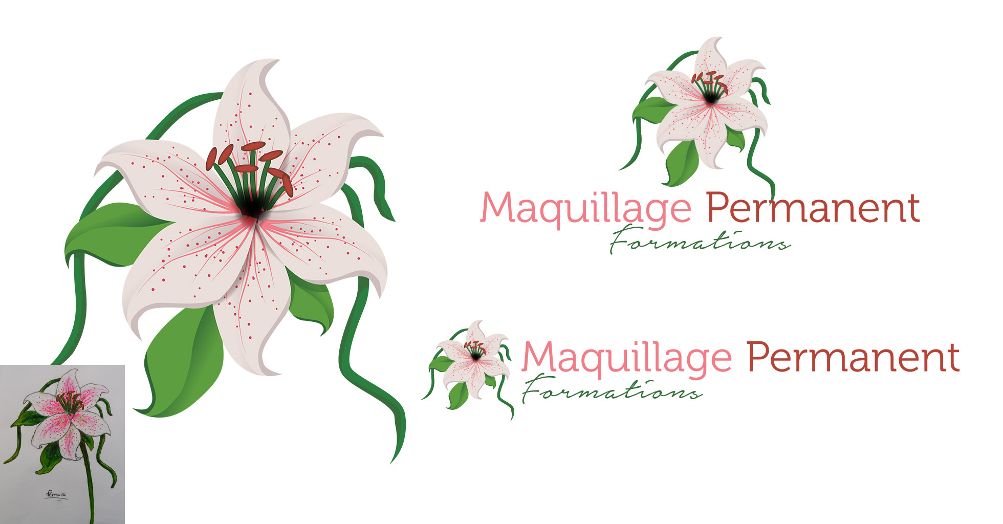 Maquillage Permanent Formations - Création du logo