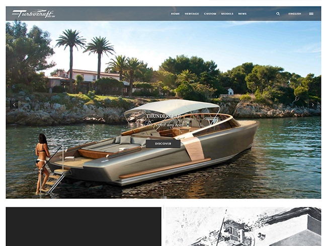 Buehler Turbocraft - Webdesign d'une légende
